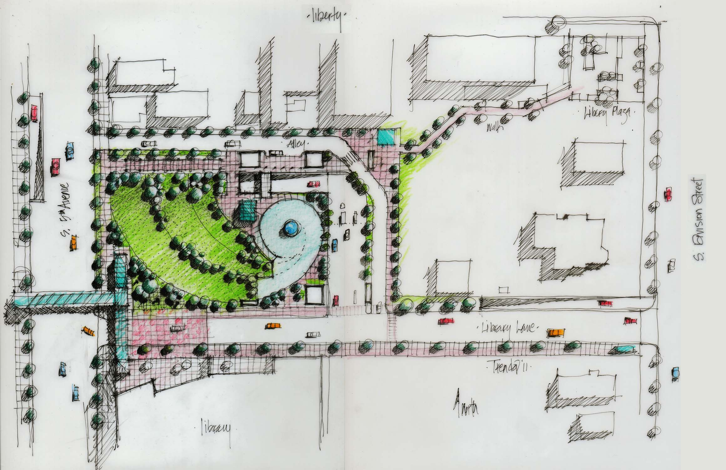 A Central Park & Civic Center For Ann Arbor