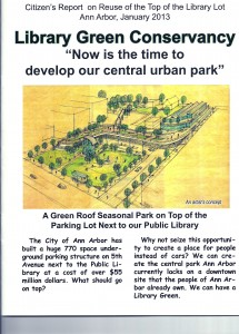Library Green Conservancy Report